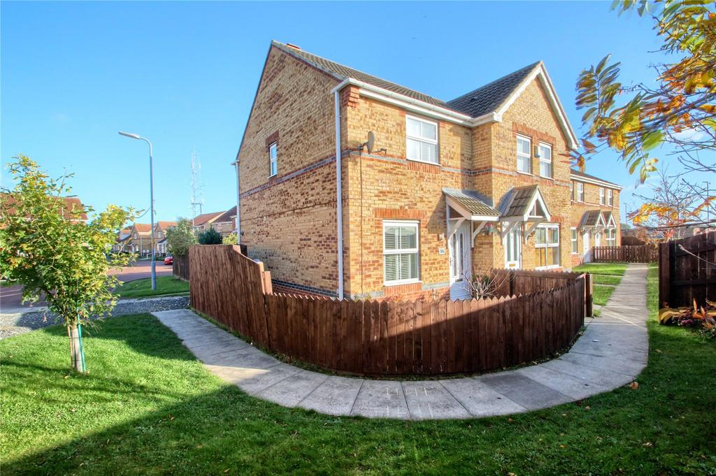 2 Bedrooms Semi Detached House for sale in Harrier Close, Thornaby