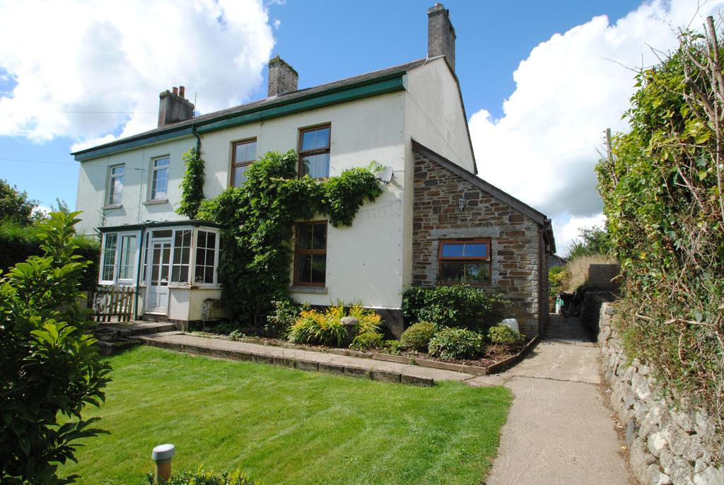 3 Bedrooms Semi Detached House for sale in Trebyan Cottages, Lanhydrock