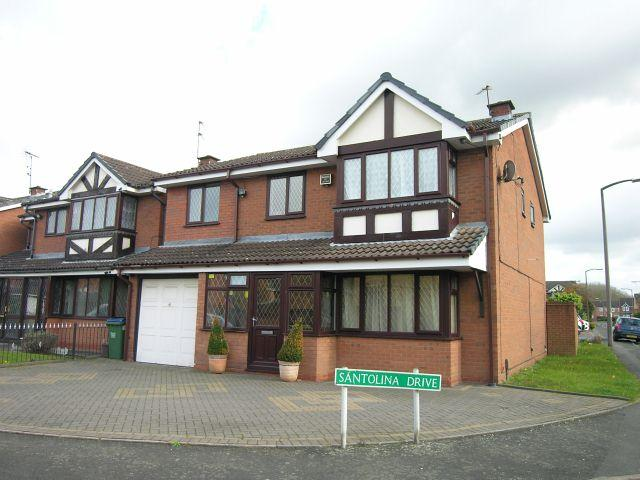 5 Bedrooms Detached House for sale in Santolina Drive,Walsall,West Midlands