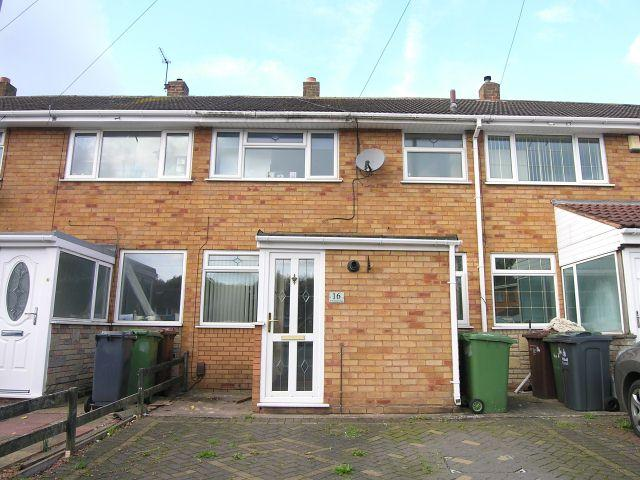 3 Bedrooms Terraced House for sale in St Francis Close,Pelsall,Walsall