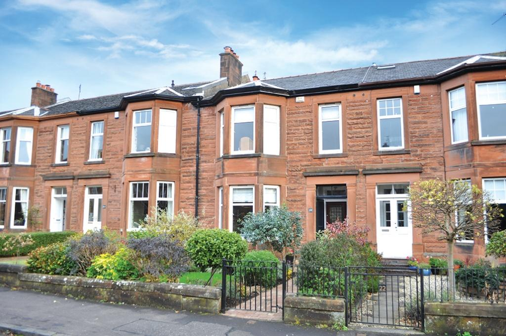 3 Bedrooms Terraced House for sale in 24 Kingsford Avenue, Muirend, G44 3EU
