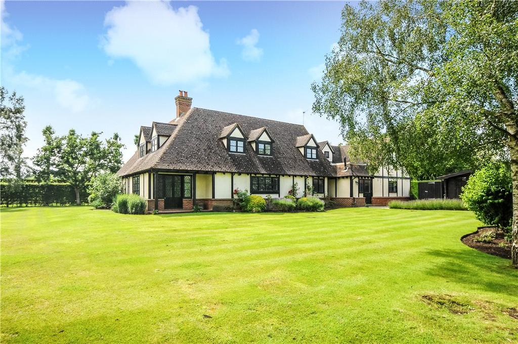 5 Bedrooms Detached House for sale in Chobham Park, Chobham, Woking, Surrey, GU24