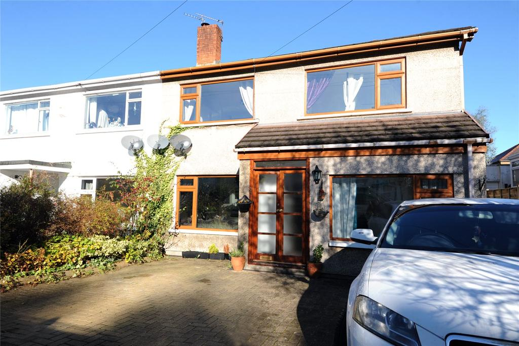 3 Bedrooms Semi Detached House for sale in Nant-fawr Crescent, Cyncoed, Cardiff, CF23