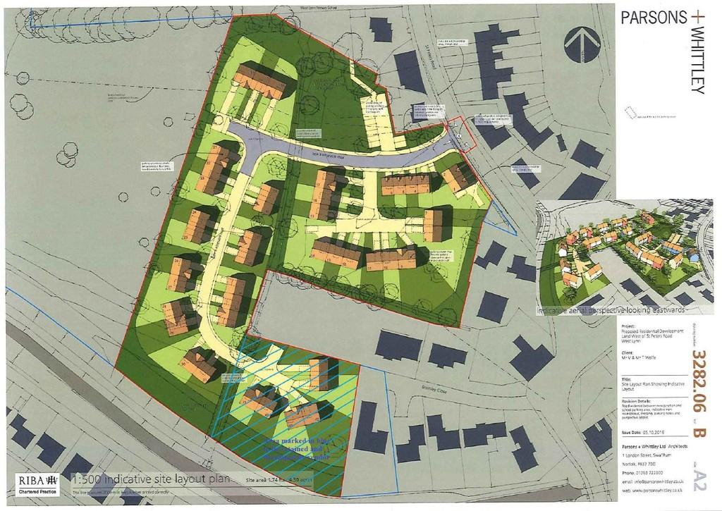 Land Commercial for sale in Residential Development Land