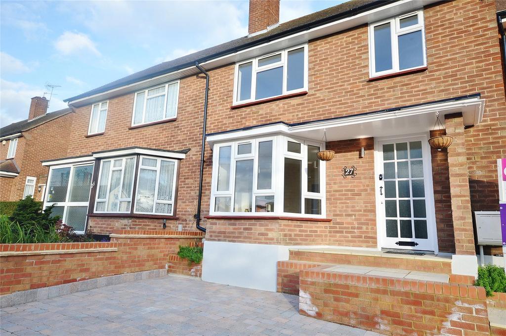 3 Bedrooms Terraced House for sale in Meriden Way, Watford, Hertfordshire, WD25