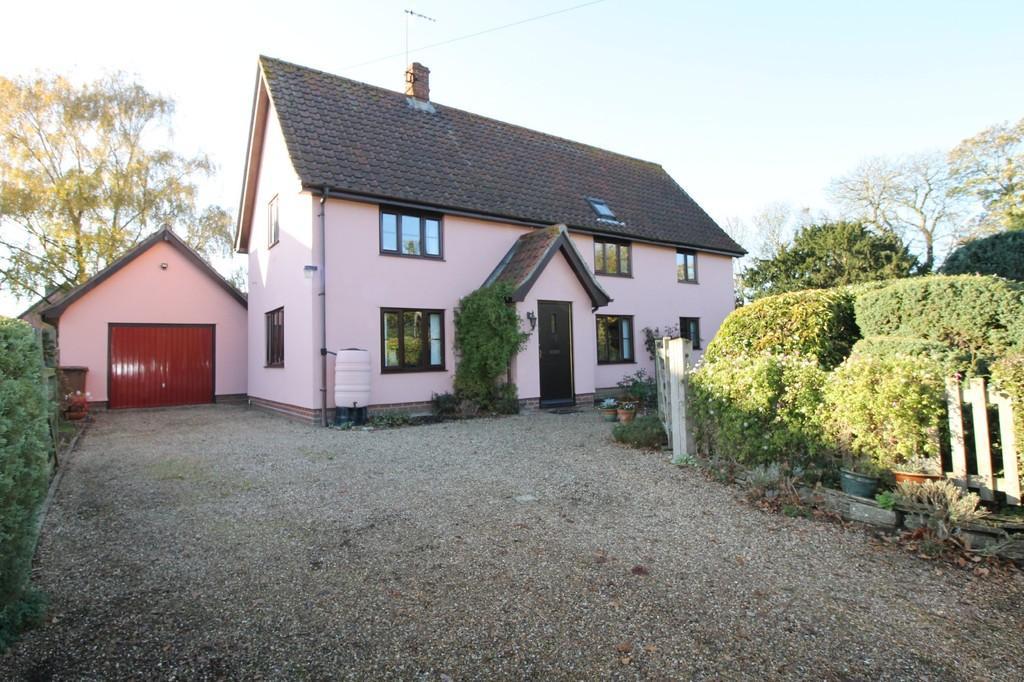 3 Bedrooms Detached House for sale in Wilby, Nr Stradbroke