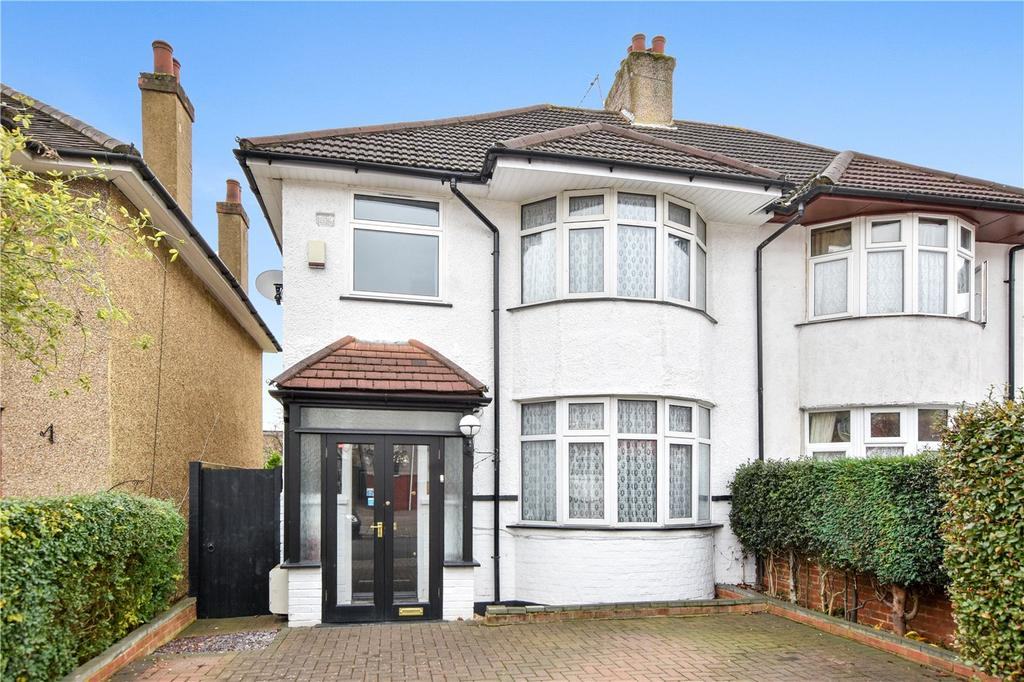 3 Bedrooms Semi Detached House for sale in Whitefriars Drive, Harrow, Middx, HA3