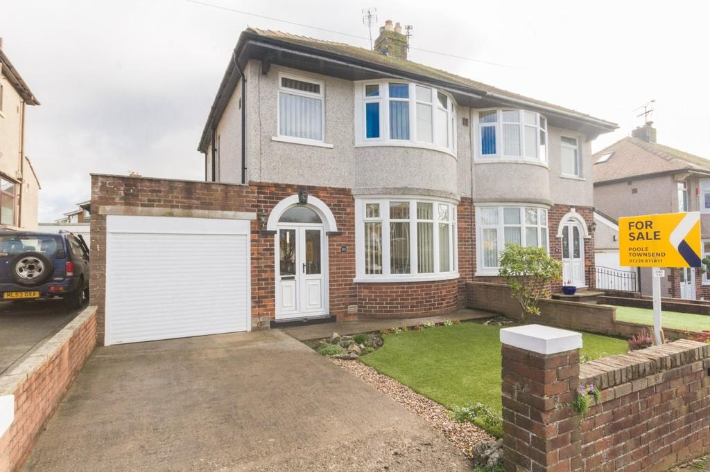 3 Bedrooms Semi Detached House for sale in Balmoral Drive, Barrow In Furness