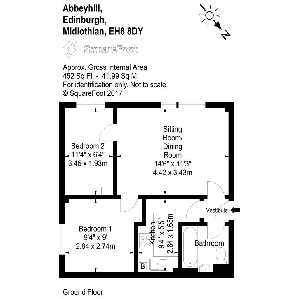 Floorplan: Abbeyhill 57