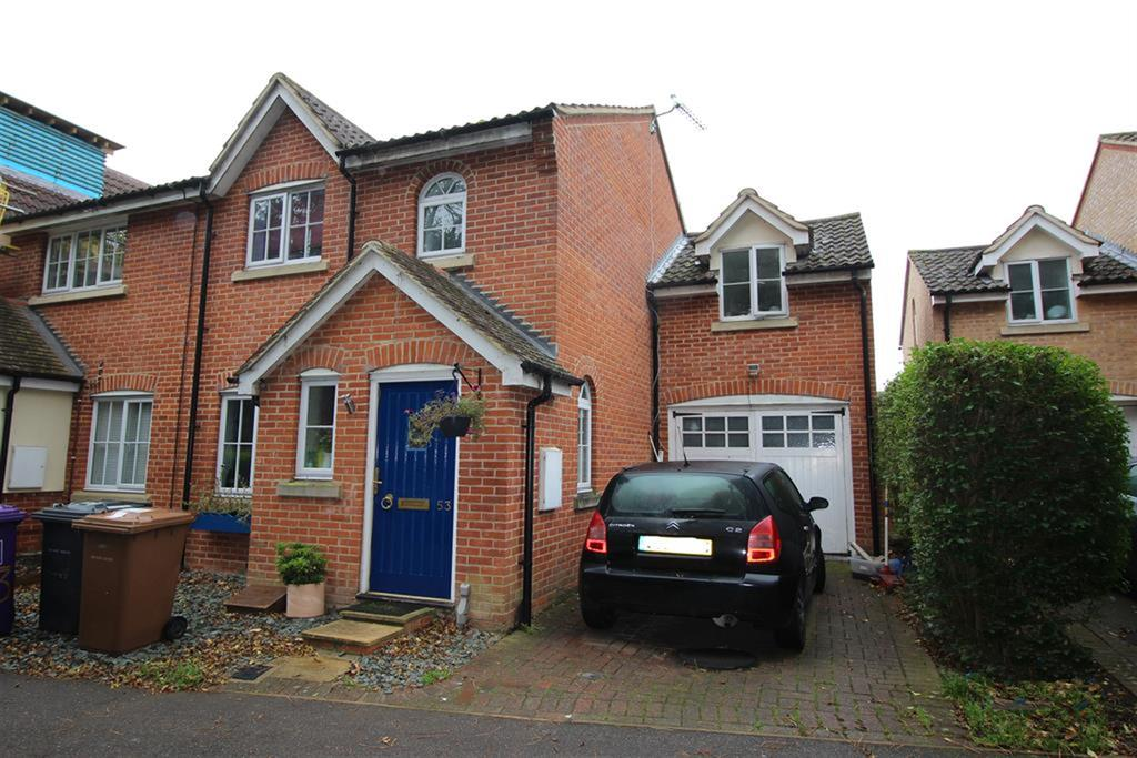 2 Bedrooms Semi Detached House for sale in Cleveland Way, Stevenage, SG1 6BH