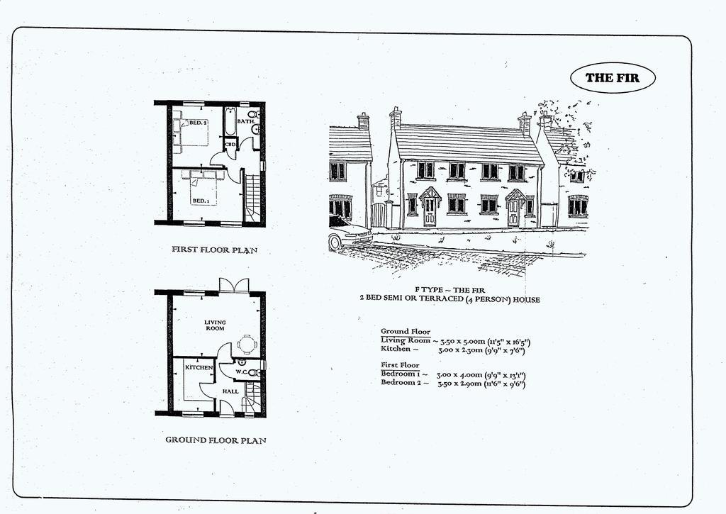 Floorplan: Plot 48 Dukes Way