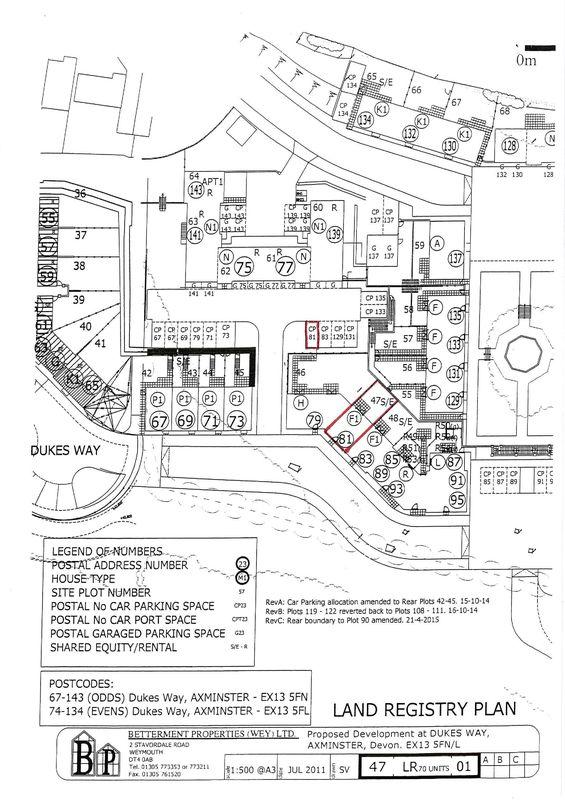 Plot 47   site plan