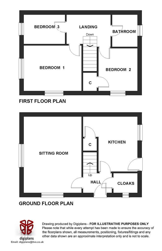 Floorplan: Plot 65 (134 Dukes