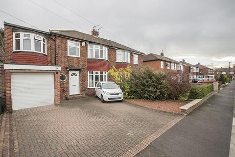 5 bedroom semi-detached house for sale - Davenport Drive, Brunton Park, Gosforth, Newcastle upon Tyne
