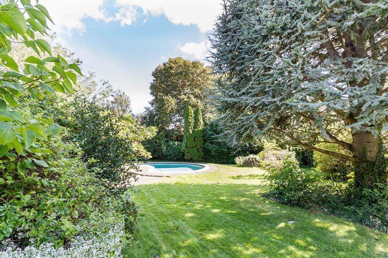 Rear garden & pool