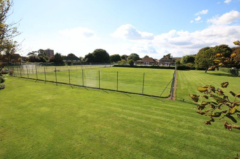 Tennis courts over