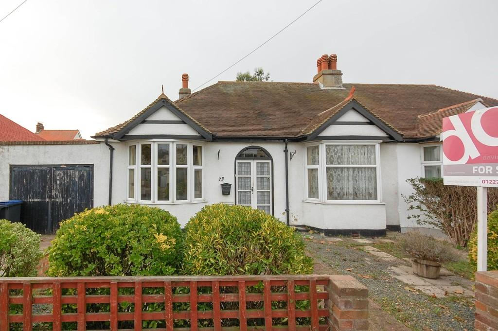 2 Bedrooms Semi Detached Bungalow for sale in Central Avenue, Herne Bay
