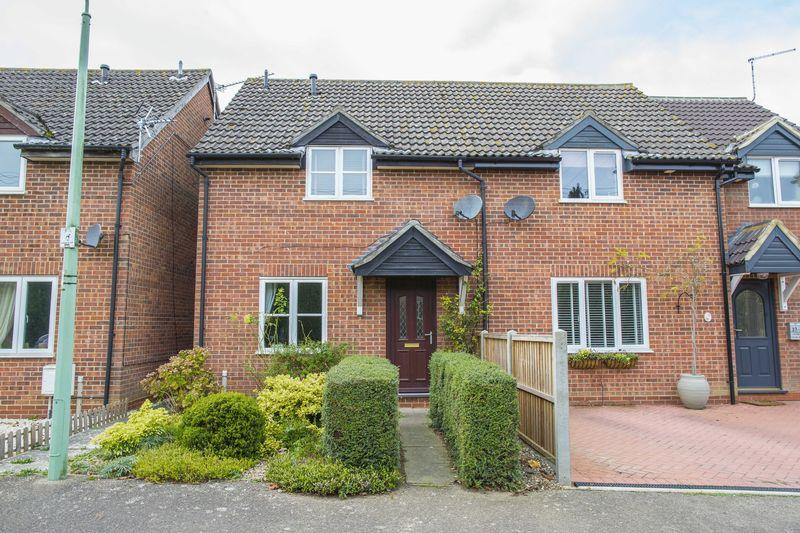 2 Bedrooms Semi Detached House for sale in Grundle Close, Stanton