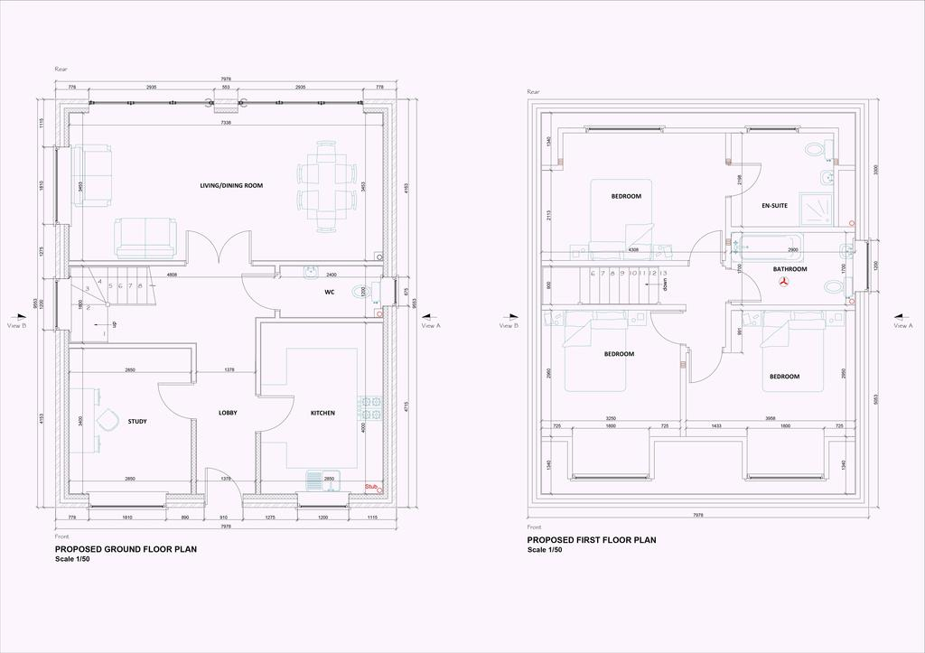 Floorplan 1 of 2: Plots 1 & 3