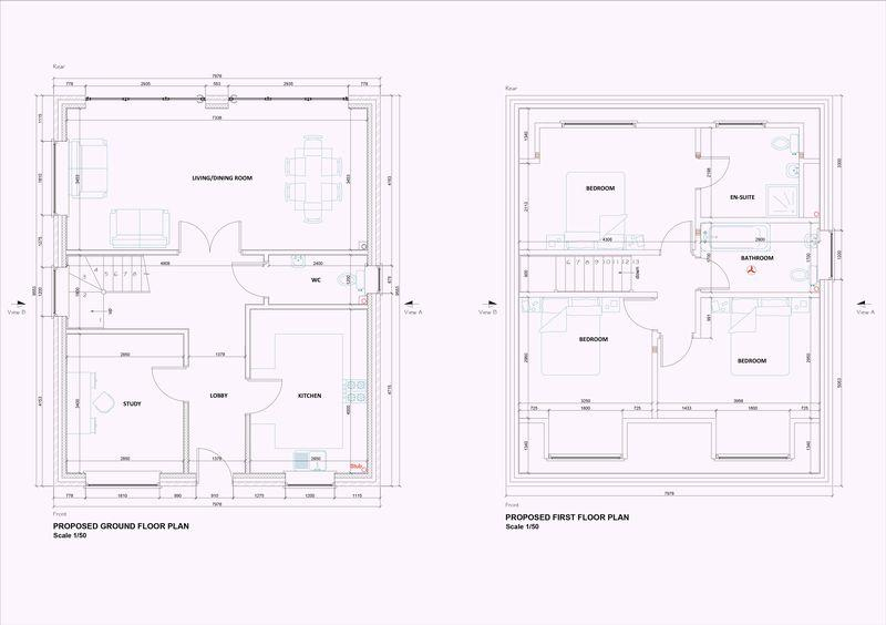 Layout Plans Plots