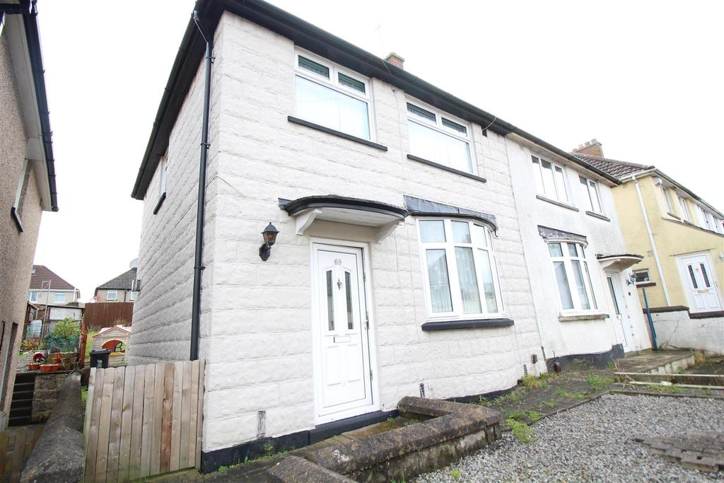 3 Bedrooms Semi Detached House for sale in Gaer Park Avenue, Newport