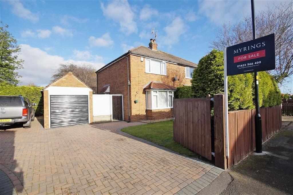 2 Bedrooms Semi Detached House for sale in Byland Road, Harrogate, North Yorkshire