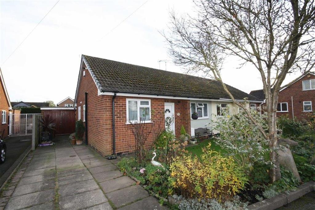 2 Bedrooms Semi Detached Bungalow for sale in Rookery Close, Fenny Drayton, Warwickshire