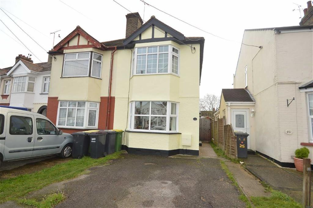 3 Bedrooms Semi Detached House for sale in Rectory Road, Hawkwell, Essex
