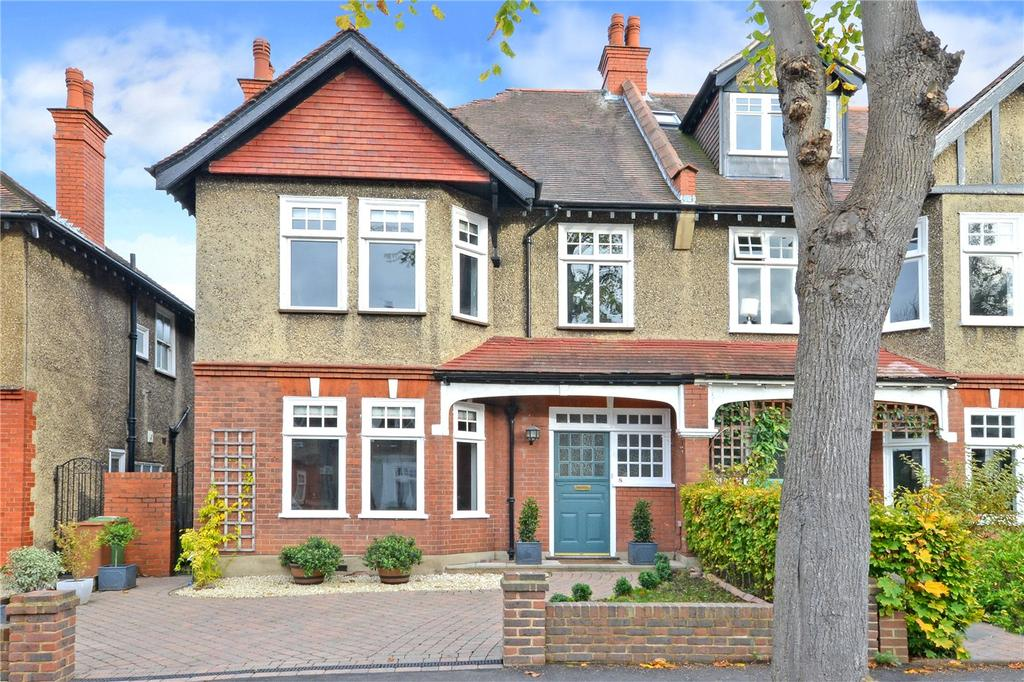 4 Bedrooms Semi Detached House for sale in Derby Road, Cheam, Sutton, SM1