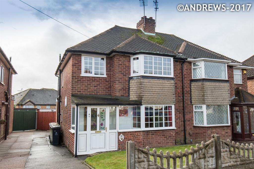 3 Bedrooms Semi Detached House for sale in Collingwood Drive, Great Barr, BIRMINGHAM