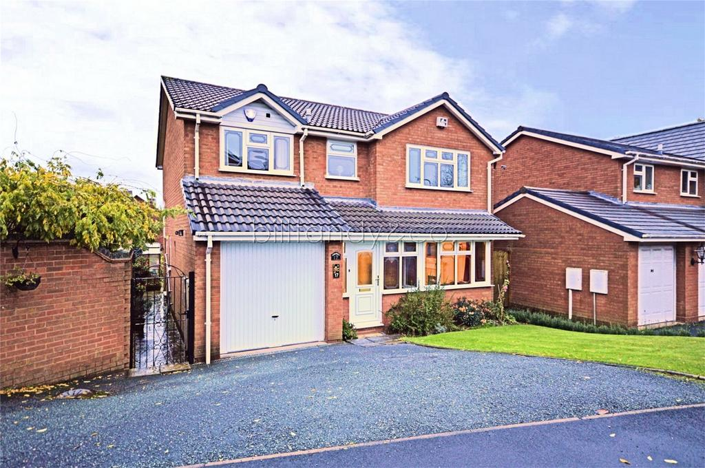 4 Bedrooms Detached House for sale in Westwoods Hollow, Burntwood, Staffordshire