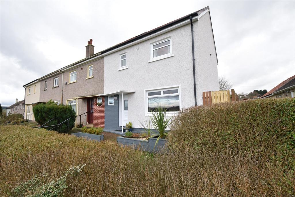 3 Bedrooms Terraced House for sale in Eglinton Drive, Eaglesham, Glasgow, Lanarkshire