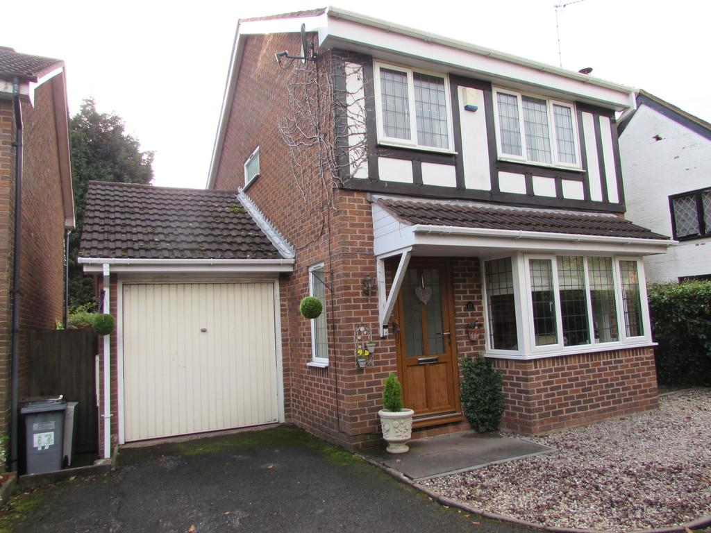 3 Bedrooms Detached House for sale in Tanwood Close, Solihull