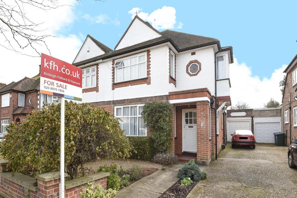 3 Bedrooms Semi Detached House for sale in Kenver Avenue, North Finchley