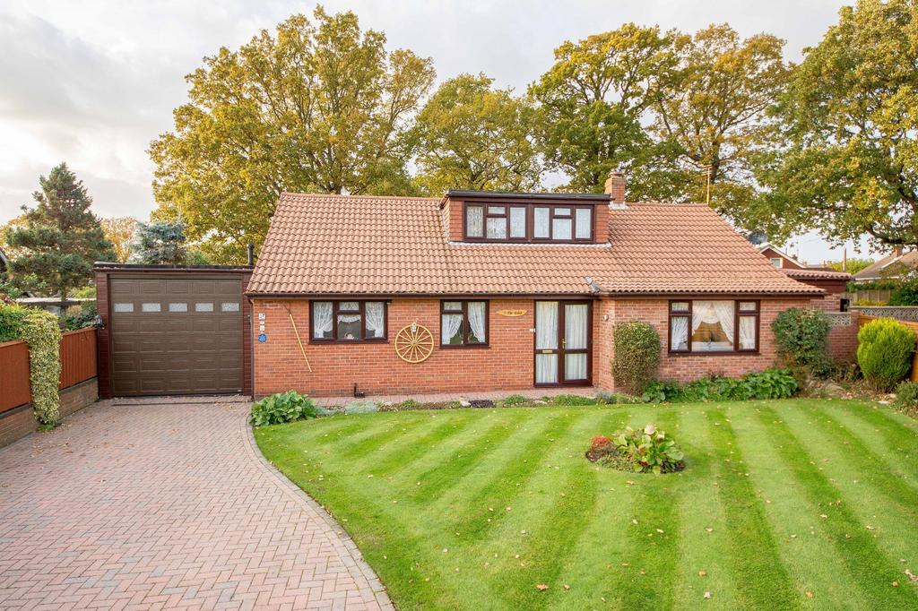 3 Bedrooms Detached Bungalow for sale in Littlewood Gardens, Locks Heath, Southampton SO31