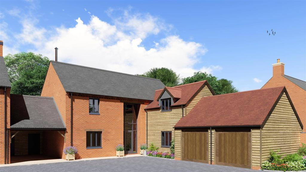 4 Bedrooms Link Detached House for sale in London Road, Great Glen, Leicester