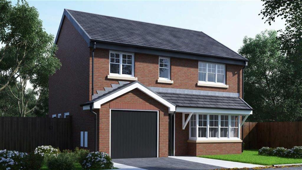 4 Bedrooms Detached House for sale in The Chatham, Plot 11, Lakeside Gardens, Blackburn, BB2