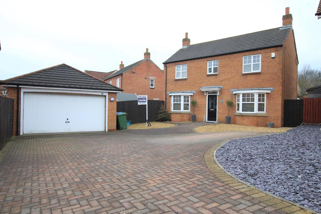 4 Bedrooms Detached House for sale in Ashtree Close, Newton Aycliffe