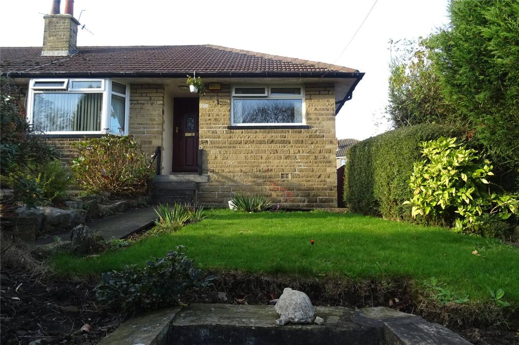 2 Bedrooms Semi Detached Bungalow for sale in Allerton Road, Allerton, Bradford, West Yorkshire, BD15