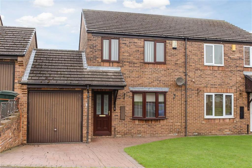 3 Bedrooms Semi Detached House for sale in Meadowcroft, Cockfield, County Durham