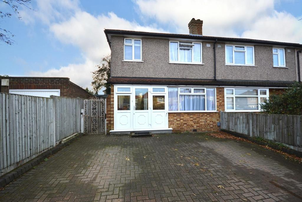 3 Bedrooms End Of Terrace House for sale in Firham Park Avenue, Harold Wood, Romford, RM3