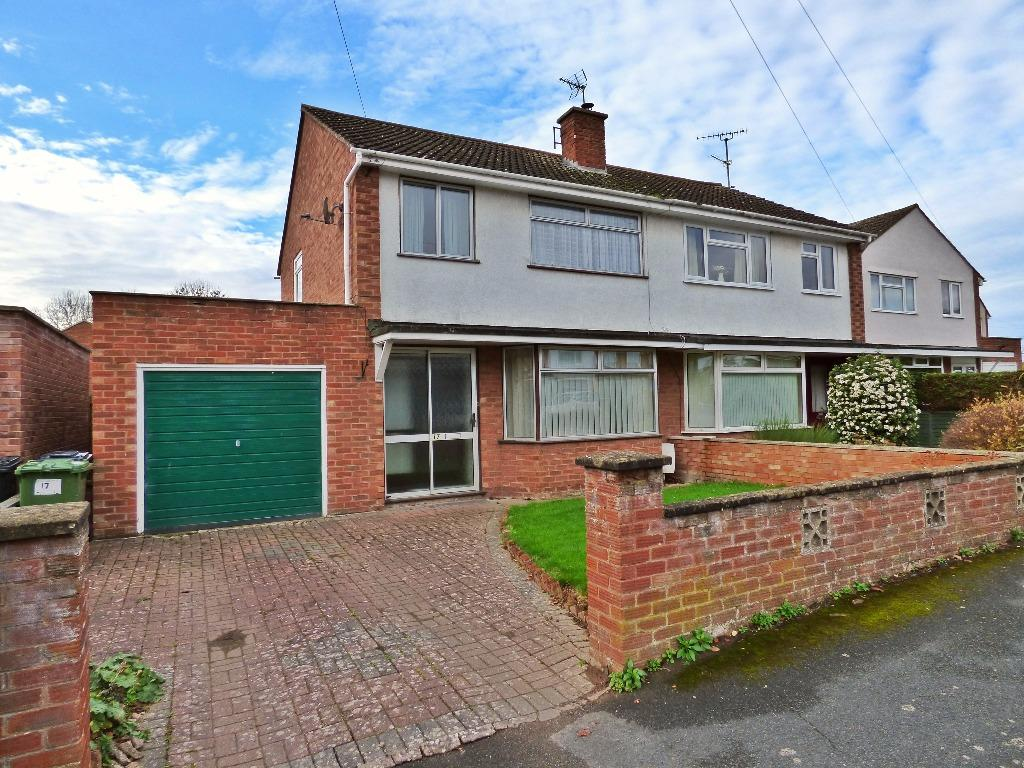 3 Bedrooms Semi Detached House for sale in Glebe Close, Credenhill, Hereford