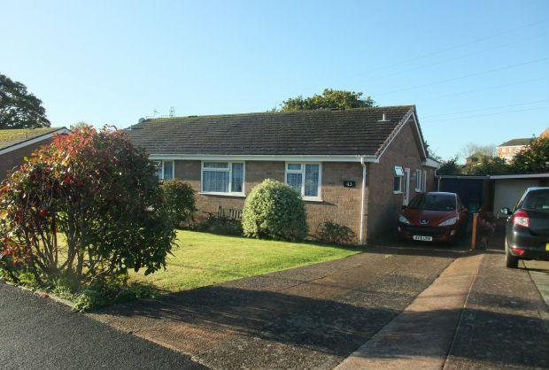 3 Bedrooms Semi Detached Bungalow for sale in Partridge Road, EXMOUTH