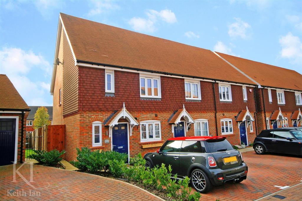 2 Bedrooms End Of Terrace House for sale in Farm Close, Ware - Larger Style Two Bedroom with Two Bathrooms!