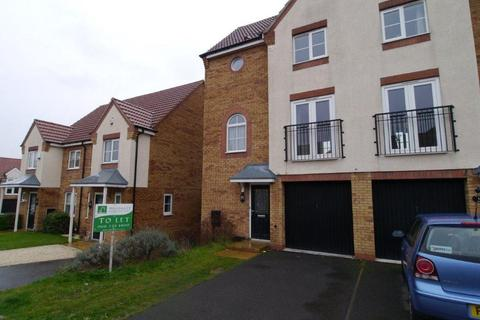 3 bedroom townhouse to rent - Garden Close Thorpe Astley Leics LE3 3SD