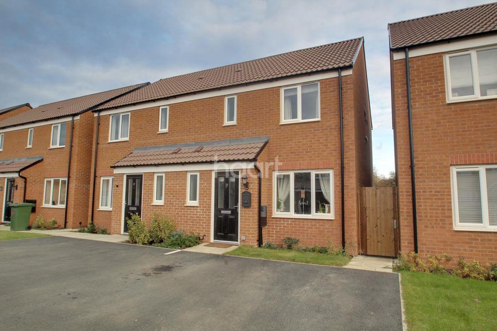 3 Bedrooms Semi Detached House for sale in Butercream Drive, Peterborough