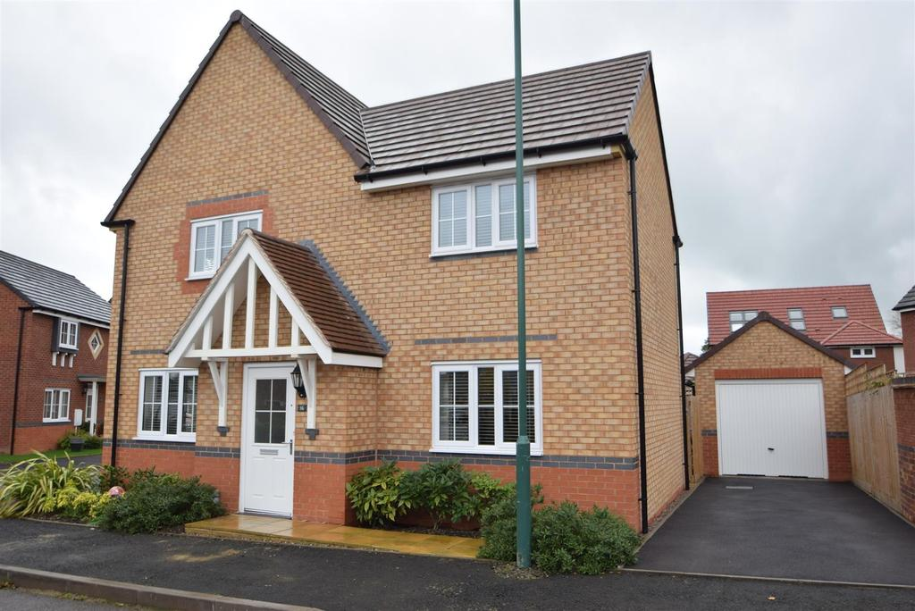 4 Bedrooms Detached House for sale in 16 Whitty Close, Bowbrook, Shrewsbury SY5 8QA