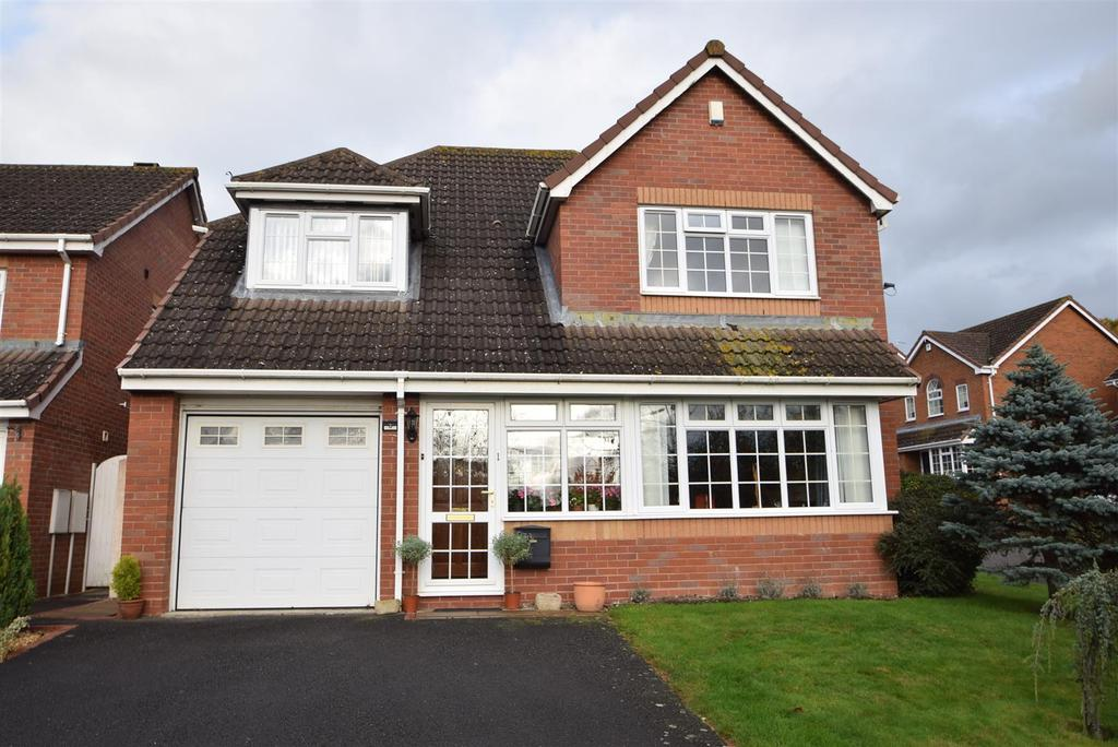 4 Bedrooms Detached House for sale in 1 Collingwood Drive, Bowbrook, Shrewsbury, SY3 5HP
