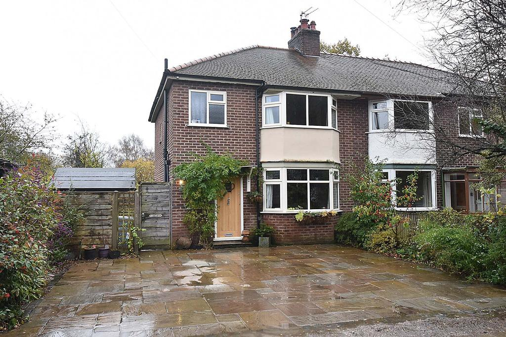 3 Bedrooms Semi Detached House for sale in Wyncot, Oak Avenue, Wilmslow
