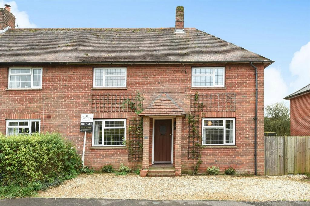 4 Bedrooms Semi Detached House for sale in Bourne Close, Otterbourne, Winchester, Hampshire